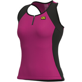 Alé Cycling Solid Color Block Tanktop Dames, cyclamen
